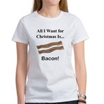 Christmas Bacon Women's T-Shirt
