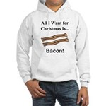 Christmas Bacon Hooded Sweatshirt