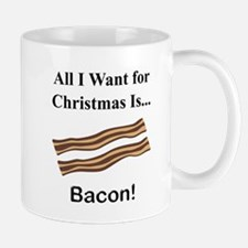 Christmas Bacon Mug