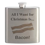 Christmas Bacon Flask