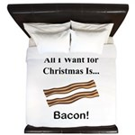 Christmas Bacon King Duvet