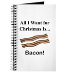 Christmas Bacon Journal