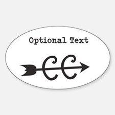 Cross Country Optional Text Decal