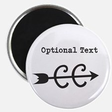 """Custom Text Cross Country 2.25"""" Magnet (10 pack)"""