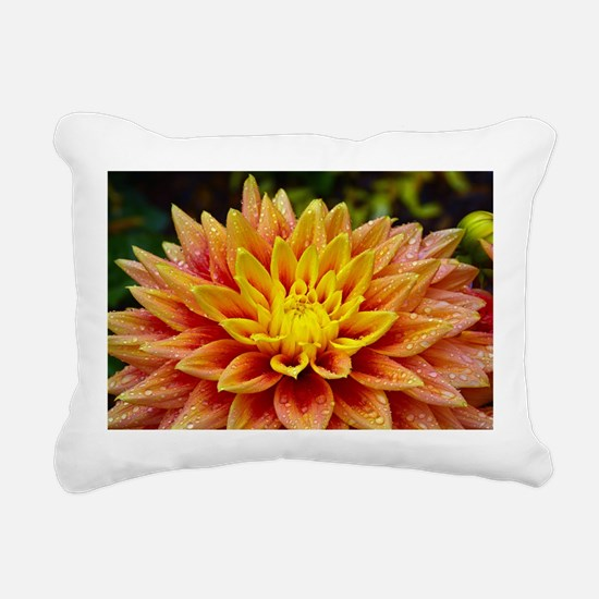 Cute Blooming Rectangular Canvas Pillow