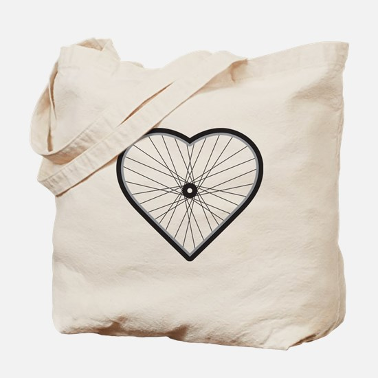 Love Road Cycling Tote Bag