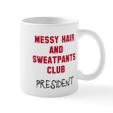 Messy Hair Sweatpants Club Mug