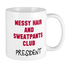 Messy Hair Sweatpants Club Mug