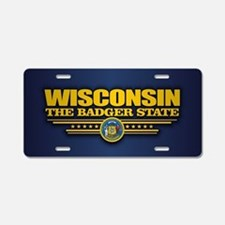 Wisconsin (v15) Aluminum License Plate