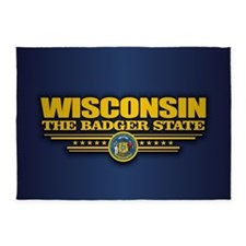 Wisconsin (v15) 5'x7'Area Rug