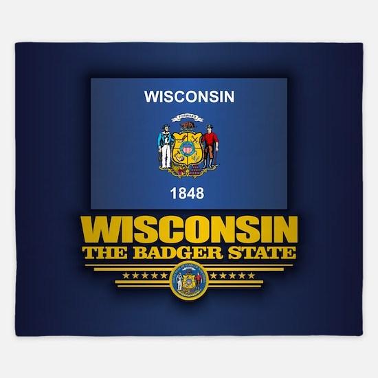 Wisconsin (v15) King Duvet