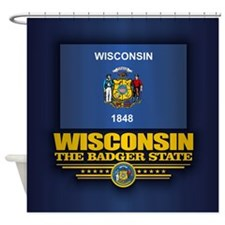 Wisconsin (v15) Shower Curtain