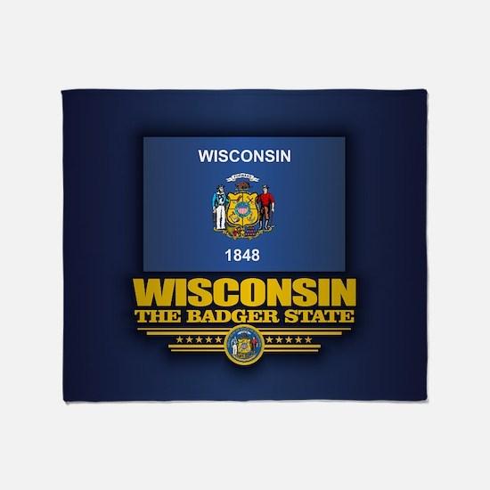 Wisconsin (v15) Throw Blanket