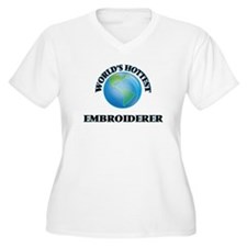 World's Hottest Embroiderer Plus Size T-Shirt