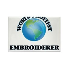 World's Hottest Embroiderer Magnets