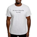 Cabana boy Mens Light T-shirts