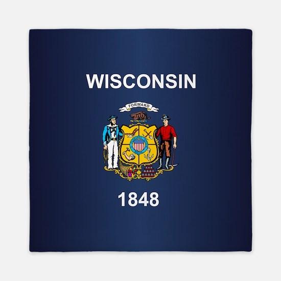 Wisconsin (v15b) Queen Duvet