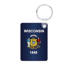 Wisconsin (v15b) Keychains