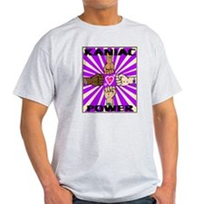 Kaniac Power in Purple T-Shirt