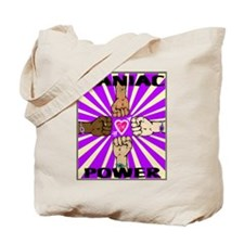 Kaniac Power in Purple Tote Bag