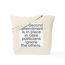 Politicians Ignore Tote Bag