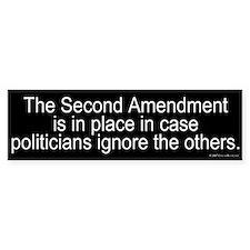 Politicians Ignore Bumper Bumper Sticker