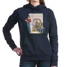 Krafty Kaniac Women's Hooded Sweatshirt