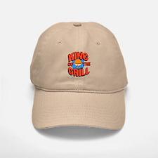 King of the Grill<br> Baseball Baseball Cap