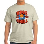 King of the Grill<br> Light T-Shirt
