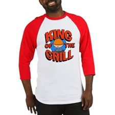 King of the Grill<br> Baseball Jersey