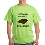 Christmas Chocolate Green T-Shirt