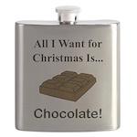 Christmas Chocolate Flask