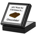Christmas Chocolate Keepsake Box