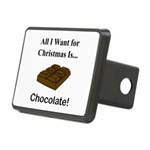 Christmas Chocolate Rectangular Hitch Cover