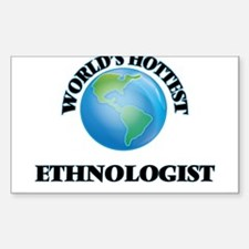 World's Hottest Ethnologist Decal