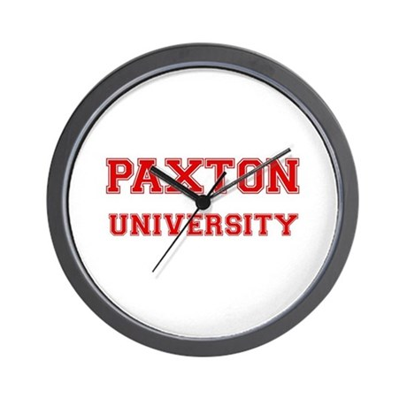 PAXTON UNIVERSITY Wall Clock