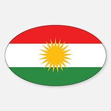 Unique Kurdistan Sticker (Oval)