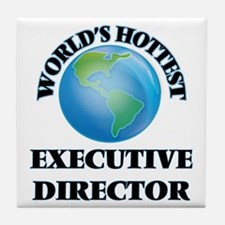 World's Hottest Executive Director Tile Coaster