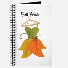Fall Wear Journal