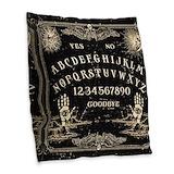 Ouija Burlap Pillows