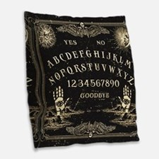 Vintage Ouija Talking Board Burlap Throw Pillow