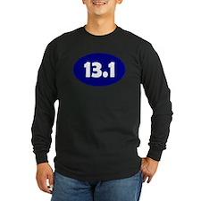 Blue 13.1 Oval Long Sleeve T-Shirt