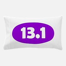 Purple 13.1 Oval Pillow Case