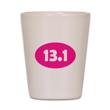 Pink 13.1 Oval Shot Glass