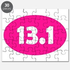 Pink 13.1 Oval Puzzle