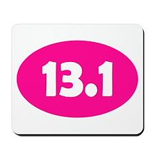 Pink 13.1 Oval Mousepad