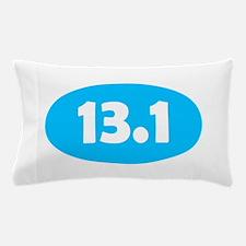 Sky Blue 13.1 Oval Pillow Case