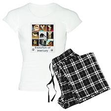 Evolution of Mercury Pajamas