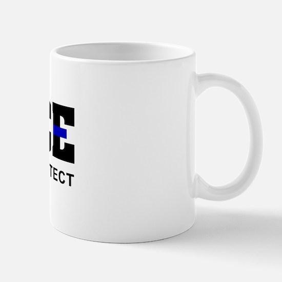 Thin Blue Line Mug