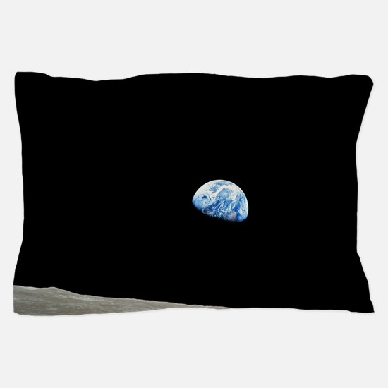 Apollo 8 1968 Earth From Moon Pillow Case